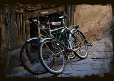 Bicycles in Lucca by Jeannie Lucas, via 500px