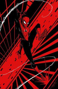 Spiderman Drawing, Spiderman Spider, Amazing Spiderman, Marvel Fan, Marvel Heroes, Marvel Avengers, Marvel Comic Universe, Comics Universe, Spectacular Spider Man