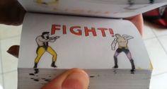 Awesome Mortal Kombat Flipbook