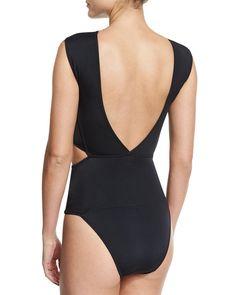 9dfaaab0593 Buy OYE Swimwear Women's Black Chiara Cutout Bandage One-piece Swimsuit,  starting at $350