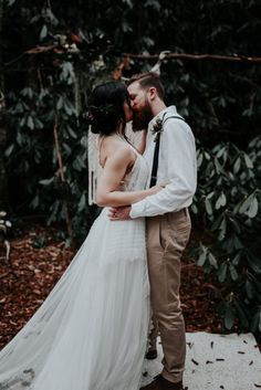 Moody Elopement Inspiration in the Middle Prong Wilderness Area