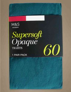 Buy the 60 Denier Supersoft Tights from Marks and Spencer's range. Opaque Tights, Khaki Green, Drink Sleeves, Hosiery, Colours, Autumn, Collection, Style, Socks