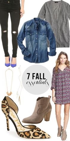 7 Fall Essentials: Buy Now // Wear Now! www.charmingincharlotte.blogspot.com