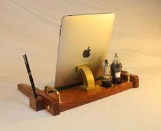 iPad Tablet Workstation  Keyboard  Tablet  Dock   by woodguy32, $189.00