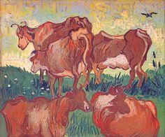 Vincent Van Gogh 1890 les vaches