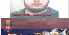 Siderno, aveva a bordo 3 kg di sostanza stupefacente e un fucile a canne mozze. Arrestato 22enne