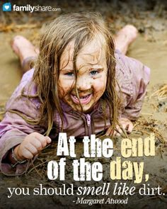 Dirt is dirty, but our kids need it. Research shows kids who play in the dirt are healthier than those shrouded in a germ-free bubble. Why kids and mud are the perfect pair...