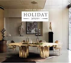 @bocadolobo wishes you all a great Holiday Season... full of joy ;)  #Holiday #season #Christmas #Xmas