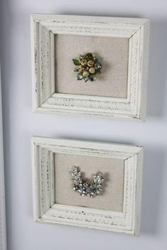 Frame grandmother's jewelry