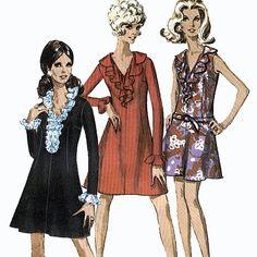Simplicity 7746 Vintage 60s Juniors' and Misses' by retrowithlana, $6.00