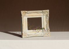 French Boudoir Chic Picture Frame. Louis XV by LePasseRecompose