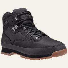 Men's Leather and Cordura® Fabric Euro Hiker Boots