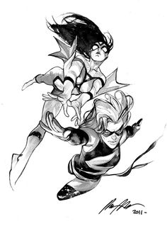 Spider-Woman and Miss Marvel •Rafael Albuquerque