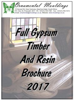 Full plaster and timber brochure