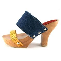 Our Fryskes are handmade clogs from The Netherlands. Sandals Platform, Women's Shoes Sandals, Yellow Jeans, Black Jeans, Cloaks, Candies, Heeled Mules, High Heels, Slippers