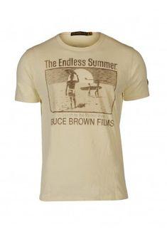Johnson Motors Bruce Brown Films T shirt