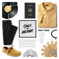 """""""Men's Fashion"""" by salihovic-nihad ❤ liked on Polyvore featuring Lands' End, Deer Stags, Royce Leather, Baron Von Fancy, Improvements, men's fashion and menswear"""