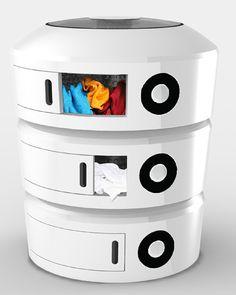 模块化洗衣机