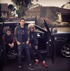 And is BFF with Jaden Smith.