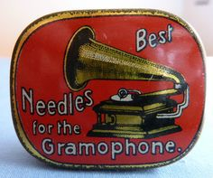 Vintage gramophone needles