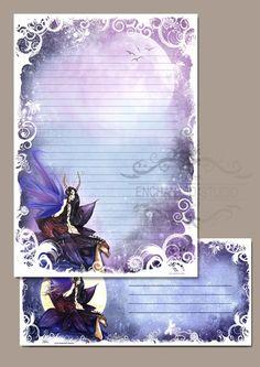 Stationery - Water Faery - Fairy Fantasy Art