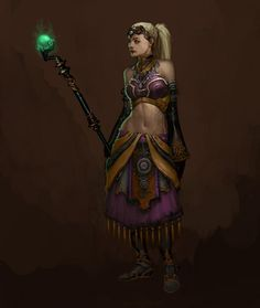Concept art for Diablo 3: Follower 1