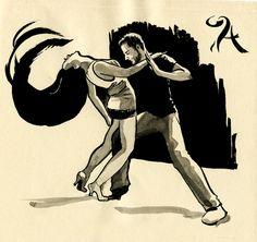 salsa dance art