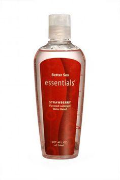 Better Sex Essentials® Strawberry Flavored Lubricant