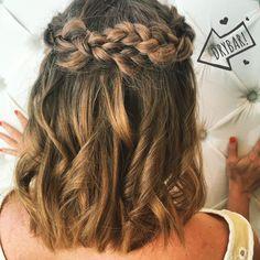 Gorgeous #MaiTai with a braid!