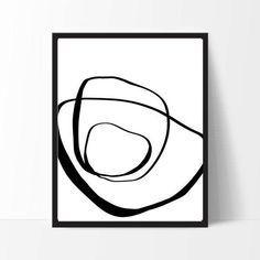 Scandinavian art prints black and white 43 New ideas Black And White Abstract, White Art, Black White, Unique Wall Art, Modern Wall Art, Minimalist Artwork, Minimalist Decor, Abstract Line Art, Scandinavian Art
