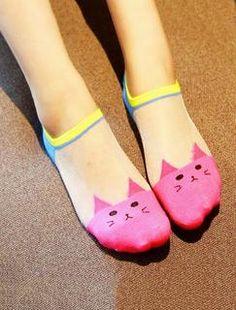 Slip-On Cat Socks - 5 PACK BUNDLE - 40% OFF TODAY