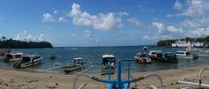 Padangbai port, Bali
