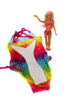 Barbie Mermaid tail DIY for beginner sewers