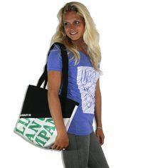 Beach Bag / printed (Accesoires) | Klabauter - into the green