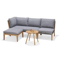 Roma modulgruppe er en moderne sofagruppe med ulike modulløsninger. Denne kombinasjonen inneholder modulene sofa, midtstol, puff og bord. Outdoor Sectional, Sectional Sofa, Outdoor Furniture, Outdoor Decor, Empire State Building, Sun Lounger, Sorrento, Gaudi, Pisa