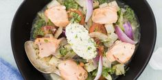 Beatrice mat med mera: Barigoule med kronärtskocka, tomat och lättbakad lax