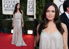 Fashion world: Angelina Jolie Surprise Golden Globe Dresses