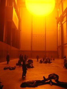 The Weather Project (2003), Olaf Eliasson @ Tate Modern