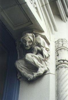 gargoyle crone religion architecture