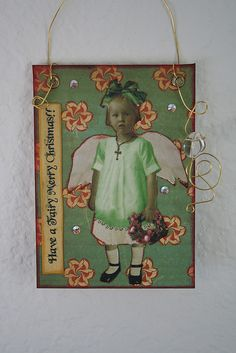 """Have a """"Fairy . . . """" - Christmas ATC"""