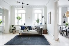 This Airy and Light-Filled Home Nails the Neutral Look via @MyDomaine