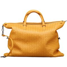 Ebano Intrecciato Nappa Convertible Bag ❤ liked on Polyvore