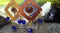 Egyptian Skies Earrings