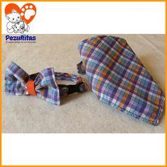 Pañoleta +  Corbatin + Collar para gato Pedidos al ws 0992208343