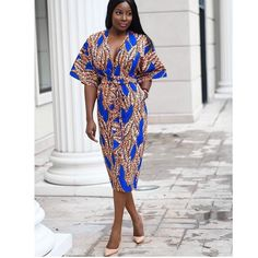 The Latest Sweet and Beautiful Ankara Styles You Need To See - Ankara collections brings the latest high street fashion online African Print Dresses, African Print Fashion, Africa Fashion, African Fashion Dresses, African Attire, African Wear, Ethnic Fashion, African Dress, Fashion Prints