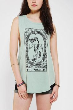 DOE Tarot Muscle Tee