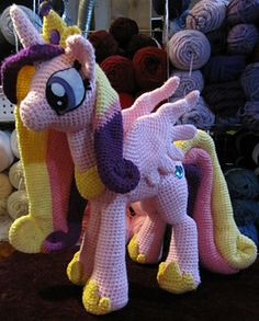 Crochet Pattern Princess Cadence