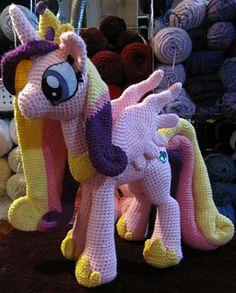 Crochet Pattern Princess Cadence