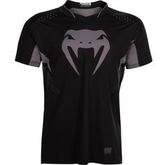 Objective Venum Carbonix Athletic Fit T-shirt Black Clothing, Shoes & Accessories