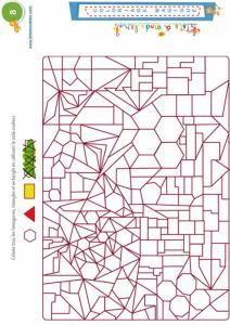 Children Wooden Educational Toys Montessori Math Geometric